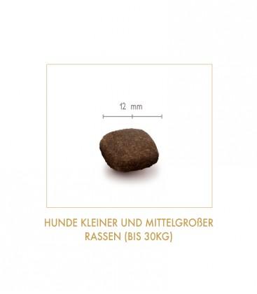 """Getreidefreies Hundetrockenfutter """"Country Farm""""  (kleine und mittelgroße Rassen bis 25 kg)"""