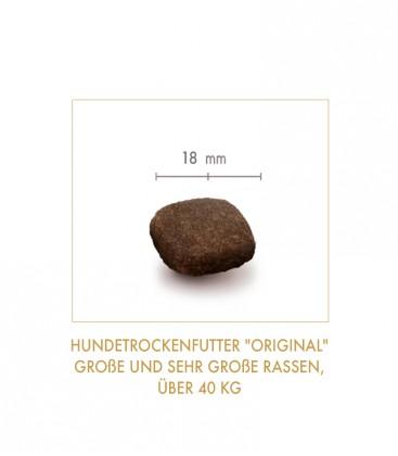 """Getreidefreies Hundetrockenfutter """"Original"""" (große und sehr große Rassen, über 40 kg)"""