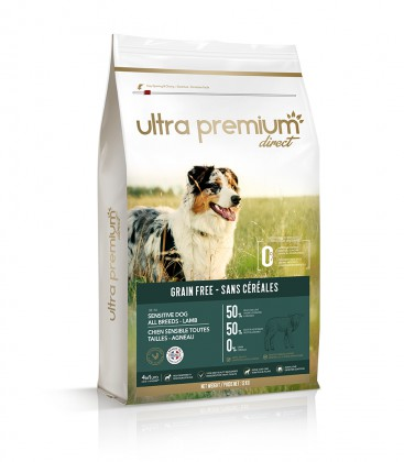 Getreidefreies Trockenfutter für sensible Hunde aller Größen/Rassen