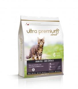 Getreidefreies Trockenfutter für Katzen und Kätzchen