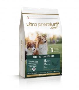 """Getreidefreies Trockenfutter für Hunde und Welpen """"Country Farm"""" (kleine und mittelgroße Rassen bis 25 kg)"""