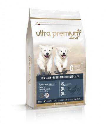 Premium Welpen-Hundetrockenfutter für große Rassen