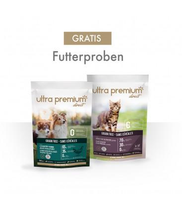Futterproben für Hunde und Katzen