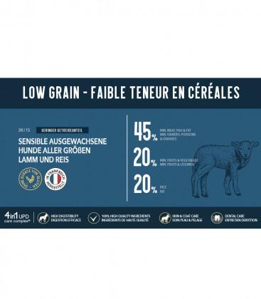 Super Premium Trockenfutter für sensible Hunde aller Größen - Lamm und Reis