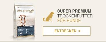 Super Premium Trockenfutter für Hunde